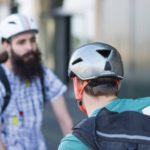 ABUS Yadd-i fejvédő teszt városi bringások Jedi sisakja